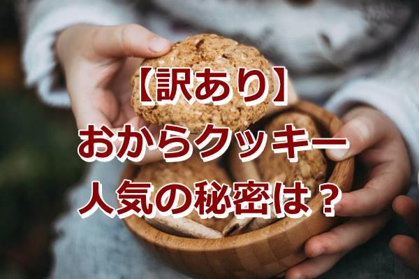 おからクッキー楽天通販で人気でおすすめはココ!訳ありだけど美味しい?