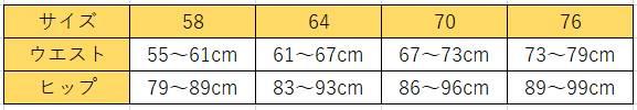 サンテラボのスタイルアップガードルサイズ