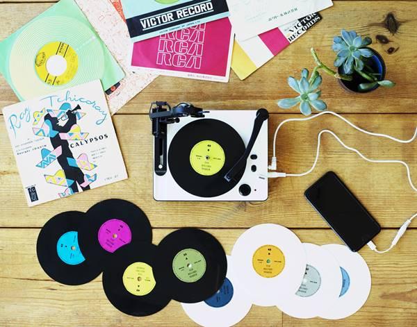 レコード盤が自作できるトイ・レコードメーカ!安く自分で作ることができる!