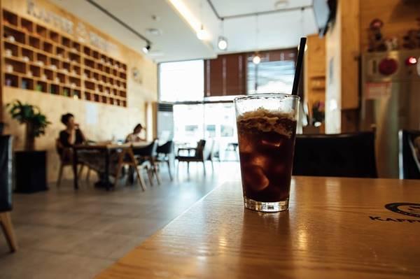 カフェ気分のアイスコーヒー