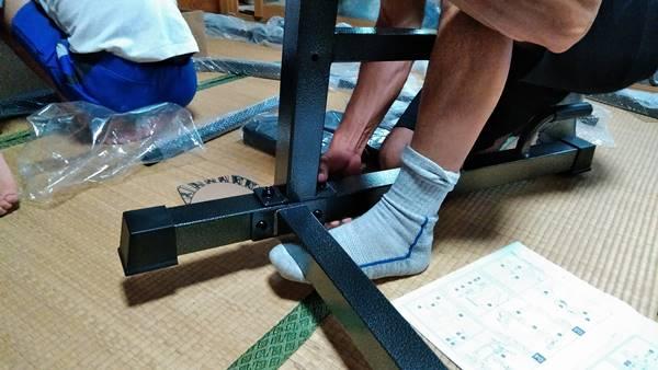 BARWINGぶら下がり健康器 (懸垂マシン)組み立て