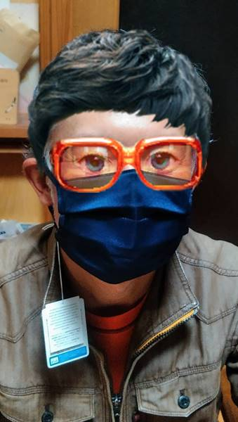 リビエールのマスク(プリーツ型)