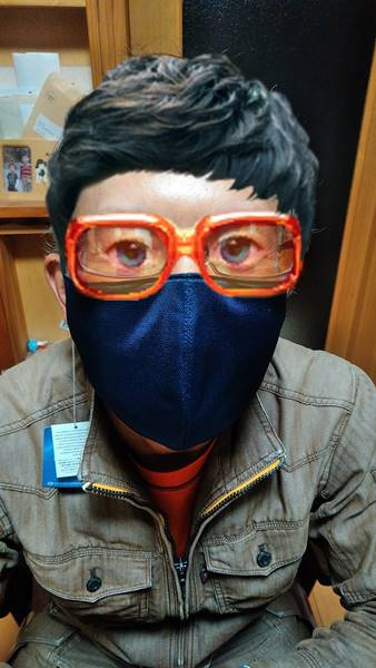 リビエールのマスク(立体型)
