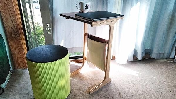 良木工房コの字サイドテーブル