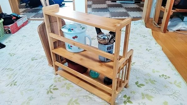 良木工房キッチンラック