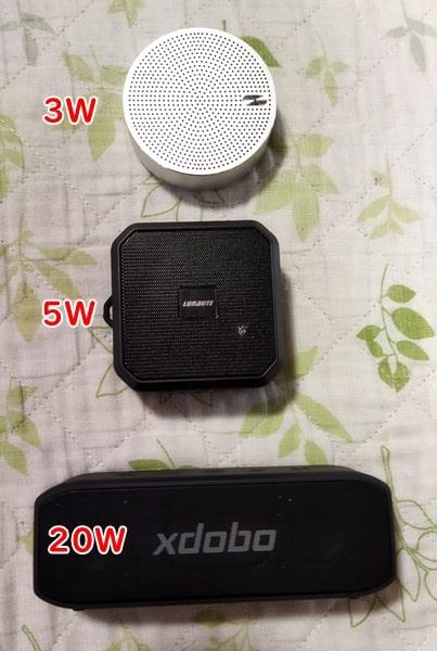 Bluetoothスピーカー比較