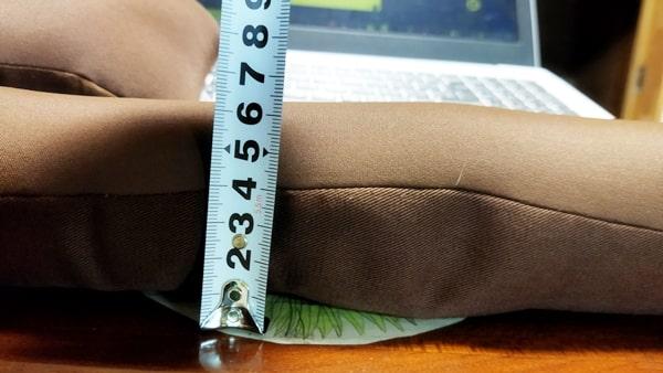 王様のアームレスト枕(キーボード・マウス)